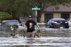 Our prayers are with all those affected by the Flood.  #texas #floods #rescue #texasfloods  http://news.yahoo.com/texas-flooding-kills-2-prompts-105124820.html
