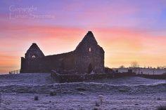 Winters  Morning. Fenagh Abbey. Co. Leitrim.  Photographer: Eunan Sweeney