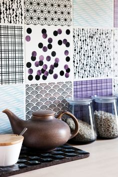 Made a Mano tiles  Styling by Mette Helena Rasmussen, Photo Tia Borgsmidt