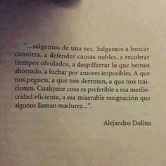 (Alejandro Dolina)