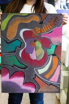High School Art lesson: Cubism