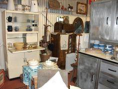 Vintage kitchen cupboard by Eastham £125 Soldand Vintage kitchen cupboard by Modern Age Kitchens £350