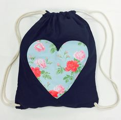 Personalised Drawstring Backpack  at #jual #personalisedbags #personalisedgifts #personalisedbabyandchild can be personalised! £14.99 contact olivia@jual.co.uk for more details
