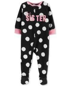 Toddler Boys   Girls Fleece Reindeer Pajamas  e3e048b96