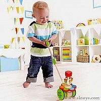 Dancing Butterflies Push Toy by Hape | Play Kids, www.playkidsstore.com