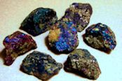 As the Chakra Stone, it will cleanse, balance and align all your Chakra energy centers individually. Among the many benefits of Peacock Ore is the grounding of excess nervous energy. Each stone dis...