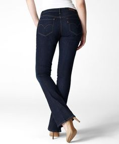 Levi's Supreme Curve Skinny Boot Cut Jeans - Best Jeans for Curvy/Athletic built women! My runner's thighs and booty actually fit into these puppies. LOVE LEVI'S