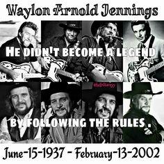 A whole Lotta Waylon going on!