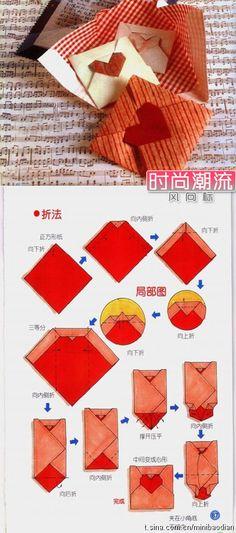 Heart shape Envelop