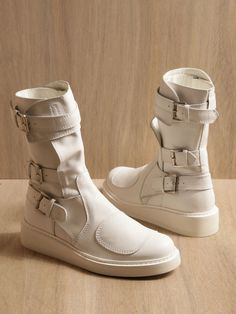 ANN DEMEULEMEESTER, SS11 VITELLO BOOT: i mean.