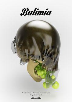 Disease - Life is Golden by Matteo Gallinelli, via Behance