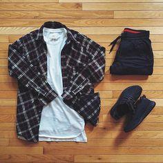 WEBSTA @ wdywt - or: #WDYWTgrid by @hypoh#mensfashion #outfit #ootd: #FearofGod #PremiumCo: #Kith: #Adidas #Yeezyboost 350 'Pirate Black'#WDYWT for on-feet photos#WDYWTgrid for outfit lay down photos•