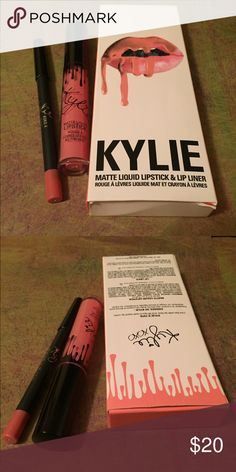 KOKO K Lipstick Set PLEASE READ-If interested in purchasing,I first would like to inform you that I bought this lip kit from another seller on a different platform & not Kylie's Website, this seller guaranteed me authenticity, & because I'm so trust worthy in people I believed her without asking for proof. So to be honest the authenticity is unknown. I'm not a dishonest person & I want my customers to be happy. Again I was told they are authentic, but who knows. I want to be honest to my…