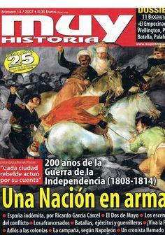 Revista MUY INTERESANTE (dic. 2007): Una nación en armas. 200 años de la Guerra de la Independencia (1808-1814)