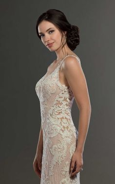 f95f104621a Dreamy Vintage Wedding Gown