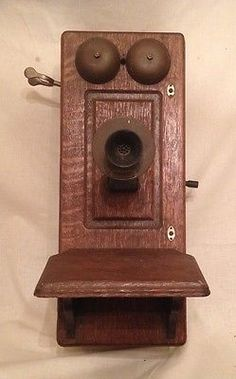 #Antique wall #telephone american bell patented july 9 89 converted to #radio,  View more on the LINK: http://www.zeppy.io/product/gb/2/222092110376/