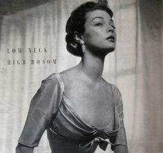 Jean Patchett Vogue Magazine 1949