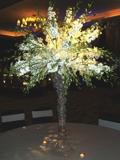 Large floral arrangements always bring a WOW factor to any space.  Spinning Out of Control Slot Tournament 2011