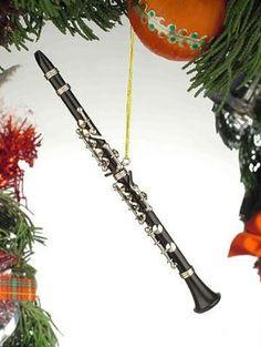 Black Music Clarinet Musical Instrument Ornament NEW:Amazon:Home & Kitchen