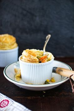 Mini Vegetable Pot Pies - Flourishing Foodie on A CUP OF JO