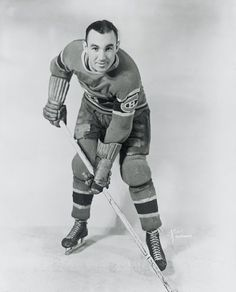 Walt Buswell - Montreal Canadiens Captain