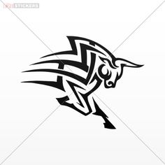 Decal Sticker Tribal Bull Tattoo Design Wall Art Decor Doors Size: 5 X 3.8 Inches Black Tribal Stickers http://www.amazon.com/dp/B00JJQ9JAI/ref=cm_sw_r_pi_dp_Ys-Avb1NFP1BM