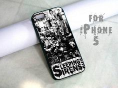 sleeping with sirens photos - design case for iphone 5 | shayutiaccessories - Accessories on ArtFire