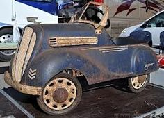 vintage pedal cars - Google Search