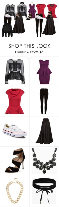 """""""Advanced F&ID Project"""" by emmagiombetti on Polyvore featuring Topshop, Chalayan, River Island, Converse, Lanvin, Carvela, Torrid, Kenneth Cole and Boohoo"""