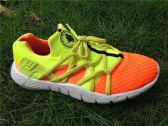 best website b9bfe 10781 WMNS Nike Air Huarache NM Hot Lava Volt White Bright Citrus