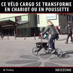 Velo Tricycle, Trike Bicycle, Mini Velo, Mini Bike, Chariot Velo, Three Wheel Bicycle, Velo Cargo, Reverse Trike, Car Gadgets