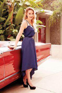 Blue Chiffon Dress Kohl's