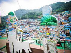 Gamcheon Culture Village (감천문화마을), Busan South Korea