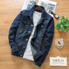 Men Casual Leisure Denim Jacket | 81Supreme