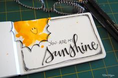 Great use of color without ending up with a traditional looking sunshine. From elvie studio on BlogSpot.