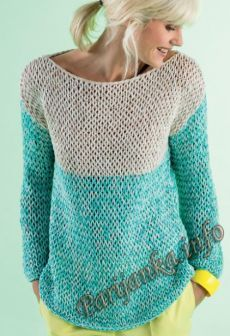 Пуловер (ж) 20*118 Phildar №4608