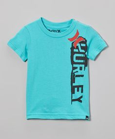 Another great find on #zulily! Bright Aqua Stadium Inline Tee - Infant, Toddler & Boys by Hurley #zulilyfinds