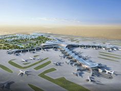 In support of the Abu Dhabi Vision 2030, the Abu Dhabi Airport, started its construction of the flagship building.
