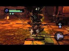 Darksiders II - Gharn Battle Gameplay [ PC HD ] - YouTube