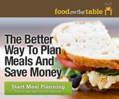 Free Online Meal Planning Service