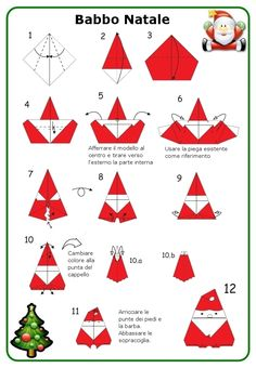 Handmade Crafts, Diy And Crafts, Paper Crafts, Origami Ornaments, Christmas Holidays, Christmas Tree, Origami Christmas, Origami Tutorial, Paper Art