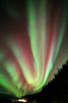 Aurora Borealis. by twila