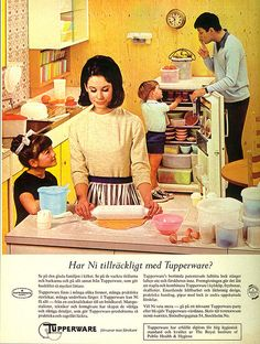Tupperware 1965    Tupperware.. hehe! Pretty pastel colors.