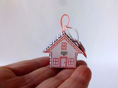 I am creative and I have fun with Stampin'Up !: My small house of happiness: the tutorial!