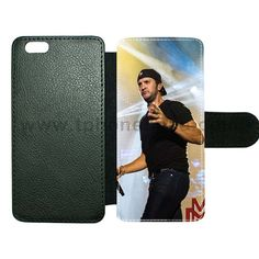 iPhone 6 6s cover made by leather with card hold Design With luke bryan