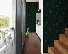 Wallpaper, Wallpaper Shop, Marble Wallpaper Gold Geometric Wallpaper, Pink Marble Wallpaper, Quirky Wallpaper, Paper Wallpaper, Green Marble, Black Marble, World Trends, Tile Floor, Home Decor