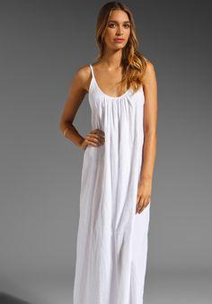 Sardinia Low Back Maxi Dress - Lyst