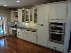 White Shaker Kitchen Cabinet white shaker cabinets with top cabinets glass doors - google