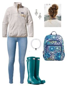 """""""Where do you get a Lokai bracelet ?"""" by southern-prep-gals ❤ liked on Polyvore featuring Patagonia, Hunter, Vera Bradley and Kate Spade"""