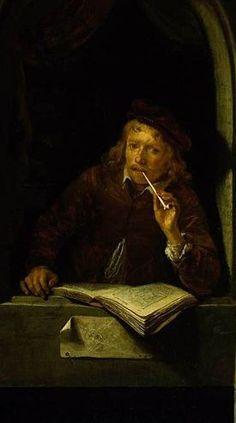 Self Portrait, par Gerrit Dou (1640)